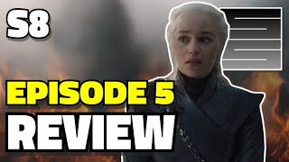 Game Of Thrones Season 8 Episode 5 Reaction / Review