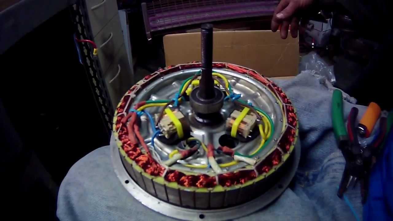 1000 Watt Electric Bike Hub Motor Internal Relay Star Delta Pre Install Clip 3 Youtube