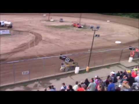 Butler Motor Speedway Sprint Heat #1 8/5/17