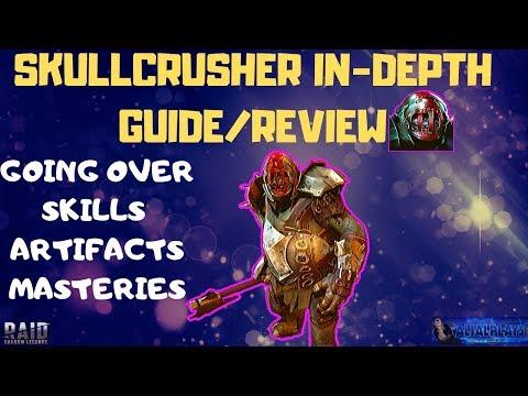 SkullCrusher In-Depth Guide/Review/Build   Raid: Shadow Legends