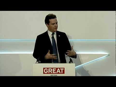 Global Investment Conference - George Osborne, Chancellor of the Exchequer