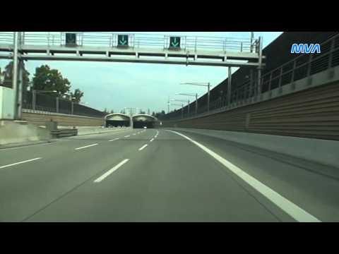 Fahrt nach Berlin auf  A10  A113  A100 bis Dreieck Funkturm