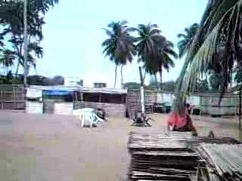 Nice beach in lome west Africa