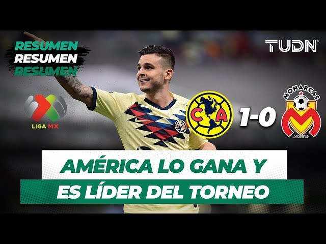Resumen América 1 - 0 Monarcas | Liga MX - Apertura 2019  - Jornada 5 | TUDN