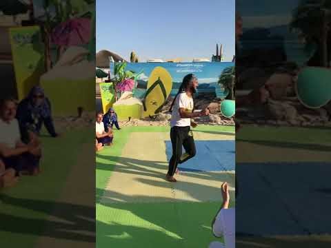Capoeira class at Taste Of Brazil - Kite Beach. Dubai