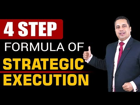 4 Step Formula for Strategic Execution   Dr Vivek Bindra
