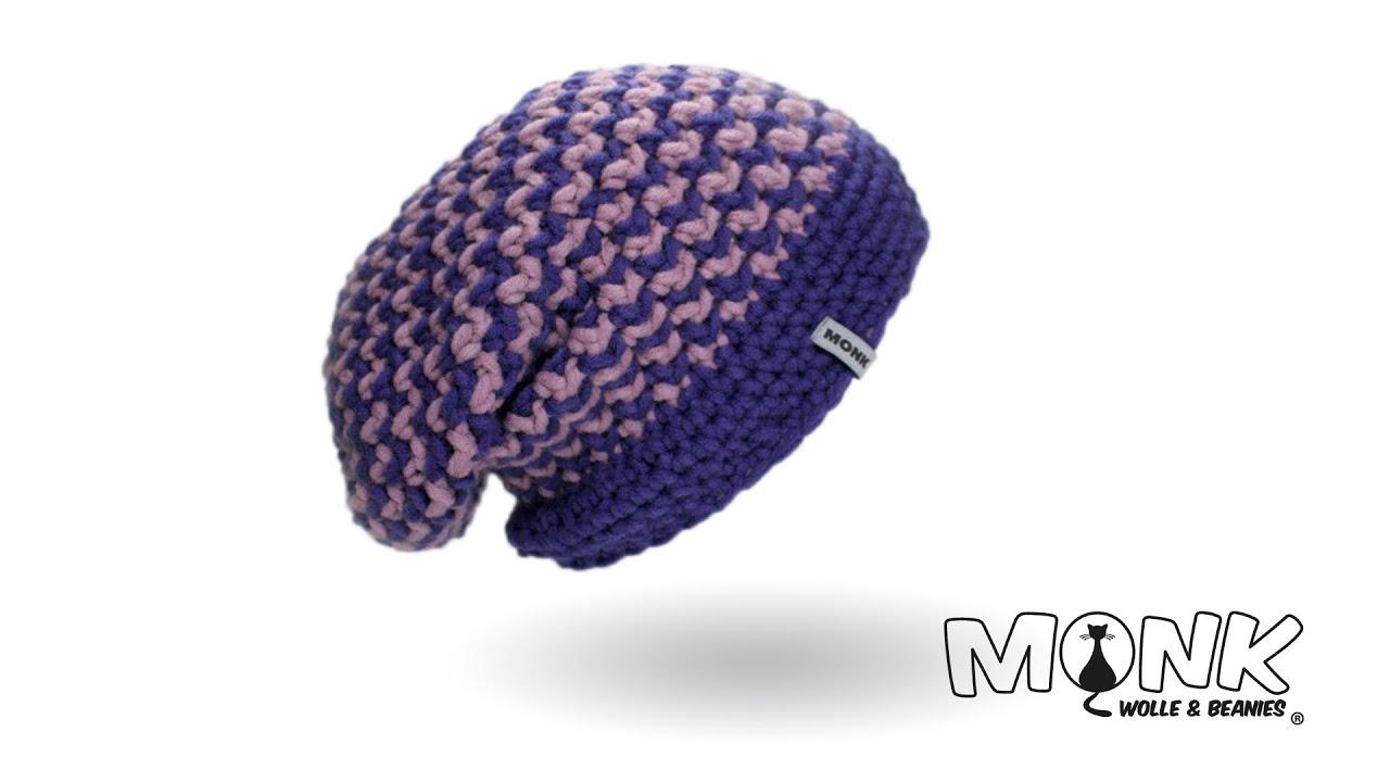 Hook Long Beanie English Crochet Youtube
