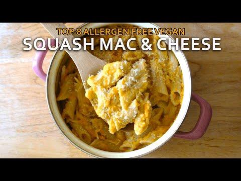 Gluten Free Vegan Mac and Cheese with Butternut Squash Recipe