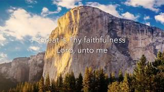Great Is Thy Faithfulness arranged by Dan Forrest from Beckenhorst Press