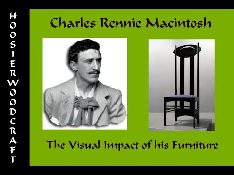 Charles Rennie Mackintosh- the Visual Impact of his furniture