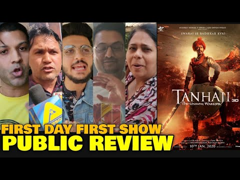 Tanhaji The Unsung Warrior PUBLIC REVIEW | First Day First Show | Ajay Devgn, Saif Ali Khan, Sharad