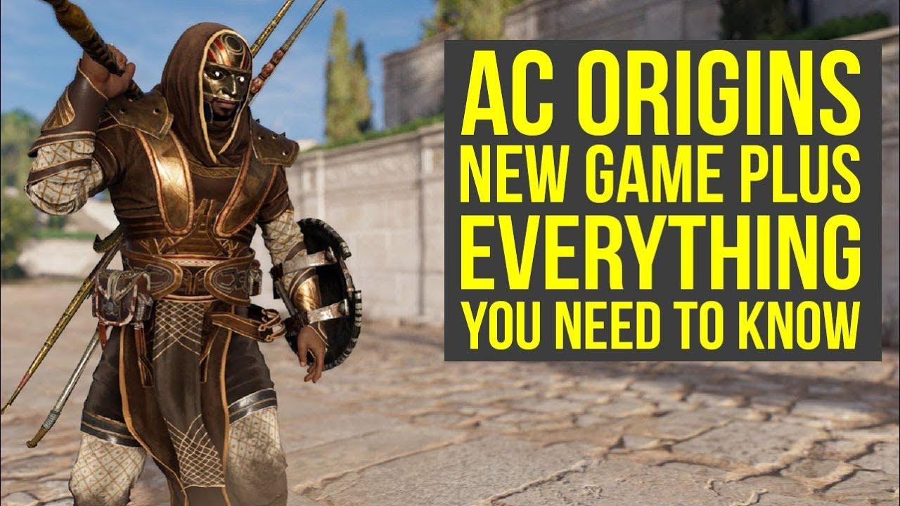 Assassin S Creed Origins New Game Plus Everything You Need To Know Ac Origins New Game Plus Youtube