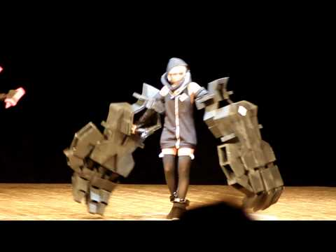 Mikan no Yuki 2011 Black Rock Shooter: The Game  Cosplay (Nafhe, Dragon Slayer, Strength)