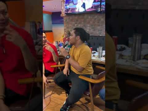 Garrett Bolden, Josh Adornado, Jong Madaliday - Lay Me Down (Videoke time at Christmas party 🌲)