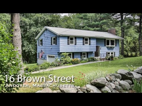Video of 16 Brown Street | Andover, Massachusetts real estat