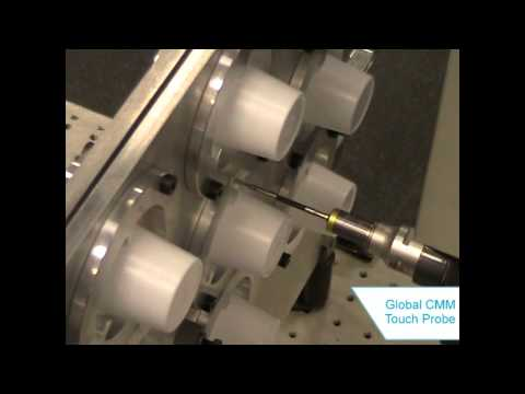 Global CMM with Multiple Part Fixture