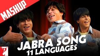 Download Hindi Video Songs - Mashup: Jabra Song | 11 Languages | FAN Anthem | Shah Rukh Khan