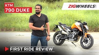 KTM 790 Duke First Ride Review | Performance, Exhaust, Top Speed, Price in India | ZigWheels.com