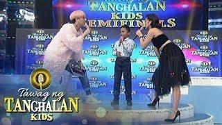 Tawag ng Tanghalan Kids: Semifinalist Francis goofs around Vice and Anne