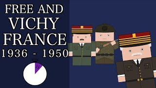 Ten Minute History - World War 2: Free and Vichy France (Short Documentary)