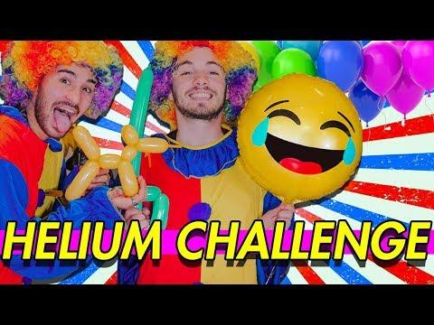 SFIDA DI PALLONCINI - HELIUM CHALLENGE | Matt & Bise