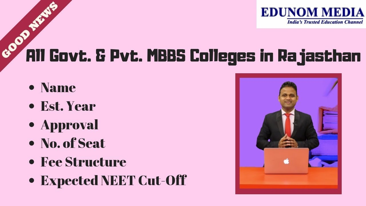 All Govt  & Pvt  Medical College in Rajasthan    NEET 2019    MBBS 2019     Medical Admission 2019   