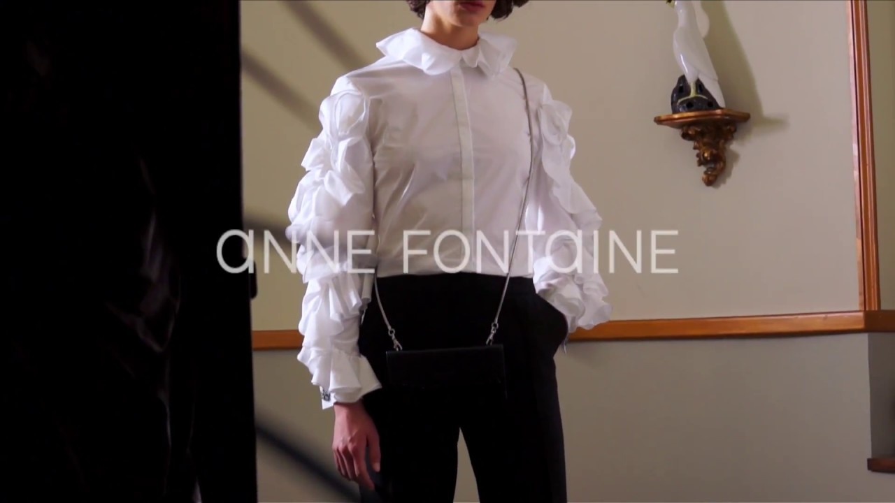 dfd53c9847a4a Anne Fontaine - Fall Winter 2017 - Shirts - YouTube