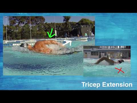 Tricep Extension and How NOT To Exit The Water