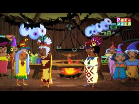 Medialuna y las noches mágicas: Gualichu la gran bruja (Cap. 25) - Canal Pakapaka