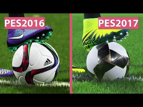 PES 2016 vs. PES 2017 Demo Graphics Comparison on PS4 Pro Evolution Soccer