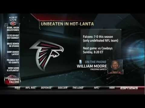 Falcons Safety William Moore on ESPN