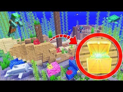 ¡encontramos-un-naufragio-en-minecraft!-😱🙈-dentro-hay-un-tesoro---#gabictor-ep.-7