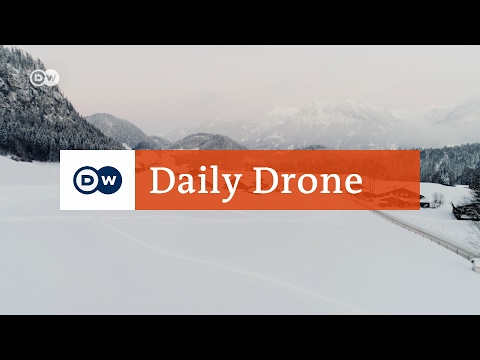 #DailyDrone: Winkel near Oberstdorf | Travel