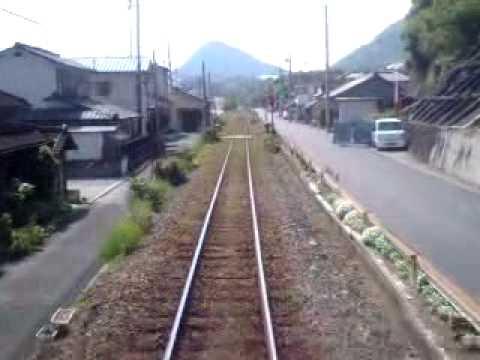 波多浦駅→三角駅 三角線 キハ31 ...