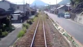 波多浦駅→三角駅 三角線 キハ31