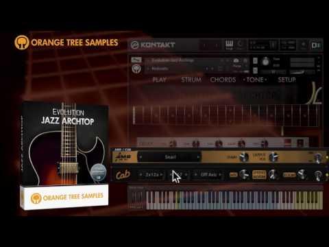 Evolution Jazz Archtop - Walkthrough Demonstration