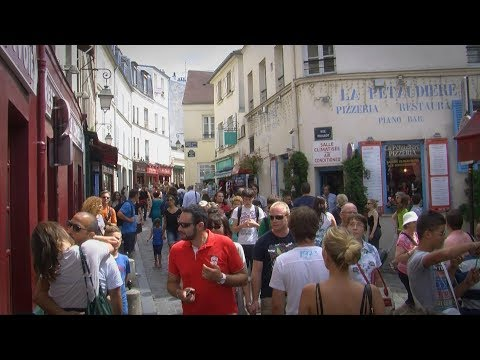 A Walk Through Montmartre, Paris France