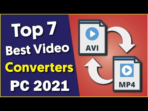 Best Free Video Converter for PC 2021   Top 7 Video Converters for Windows 10