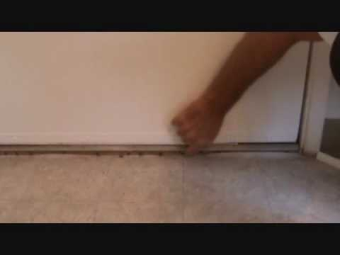 Installing Floor Trim At A Door Threshold Youtube