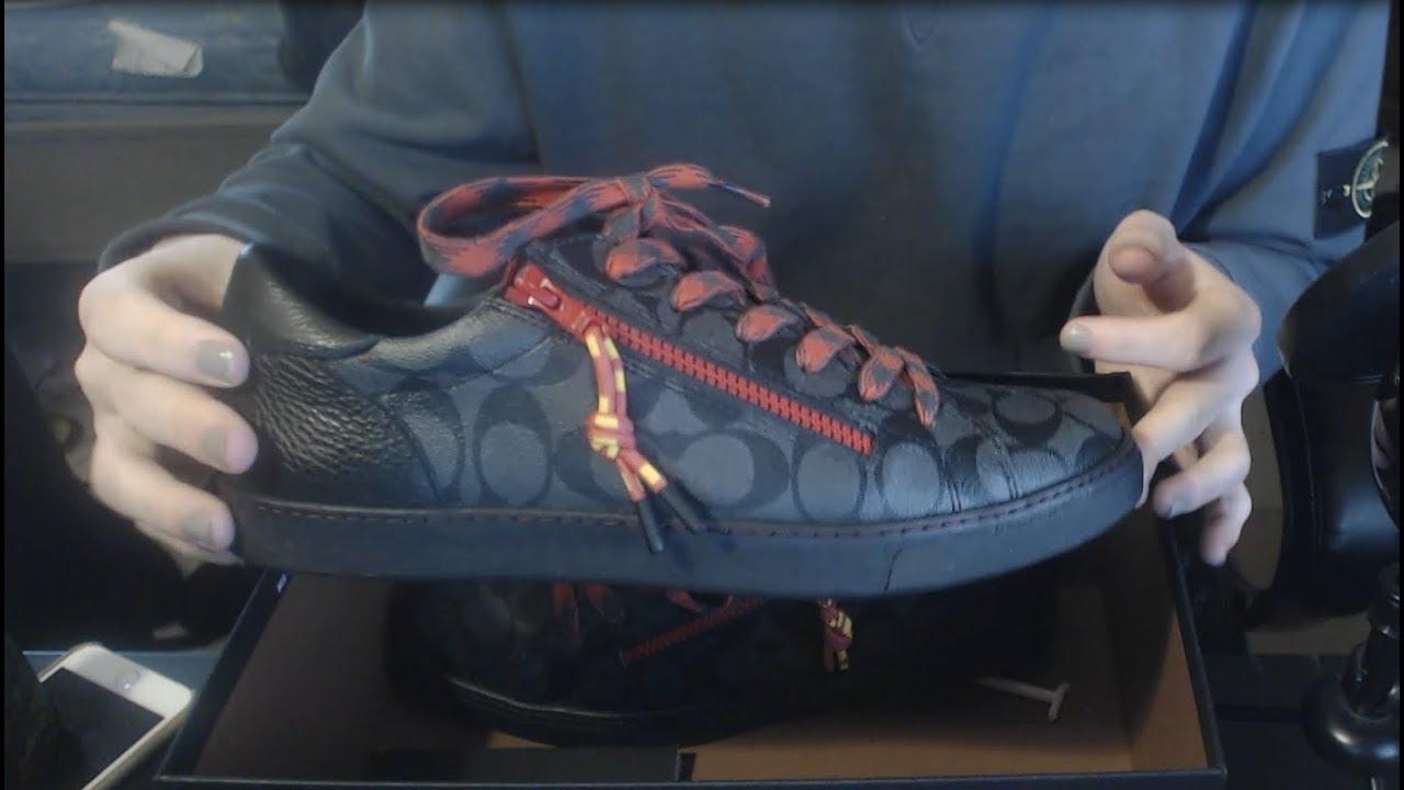 Coach C126 Low Top Monogram Sneaker