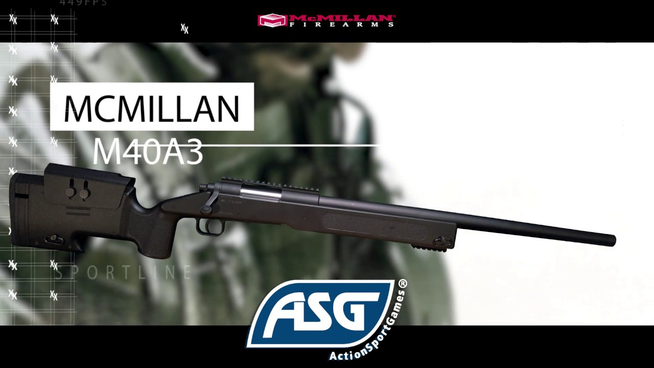 ASG Macmillan SL, Spring, M40A3 | Article No : 18556