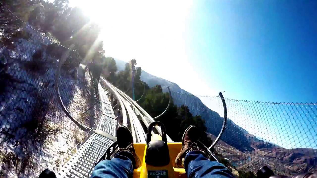 Alpine Coaster 4k Glenwood Caverns Adventure Park Glenwood