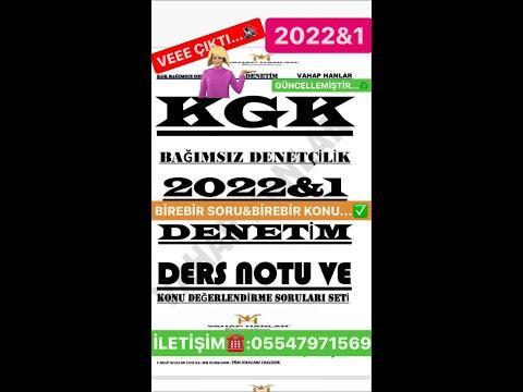 KGK BAĞIMSIZ DENETÇİLİK 2020&2 DENETİM/1