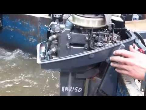 Мотор лодочный Yamaha 8 CM, б/у 1993 г.в.