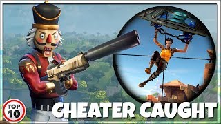 Top 10 Biggest Fortnite Cheaters CAUGHT