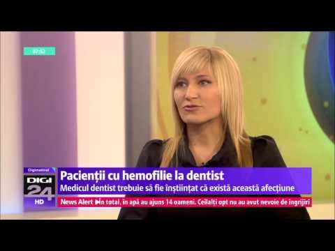 Pacientii cu hemofilie la dentist