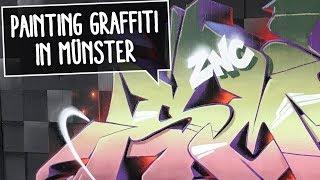 PAINTING GRAFFITI IN MÜNSTER | Stoke, Smoe, Mocka
