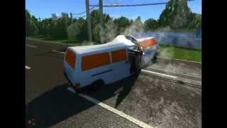 BeamNG DRIVE  Volkswagen Transporter T4 beta
