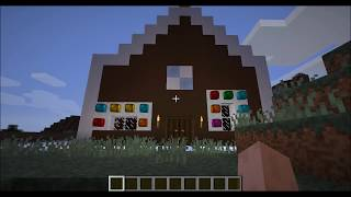 Minecraft GingerBread House With Download.