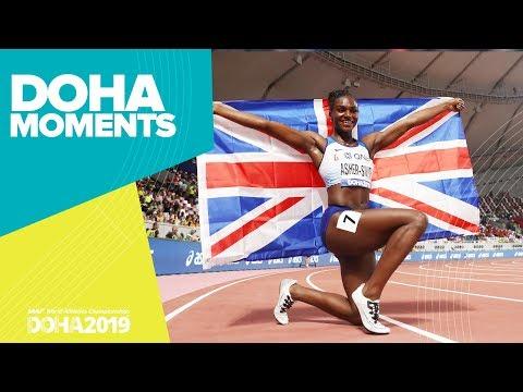 Dina Asher-Smith dominates 200m final | World Athletics Championships 2019 | Doha Moments